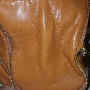 28cc9a045aa0 Central Casting Accessories Bags - Shiny leather handbag